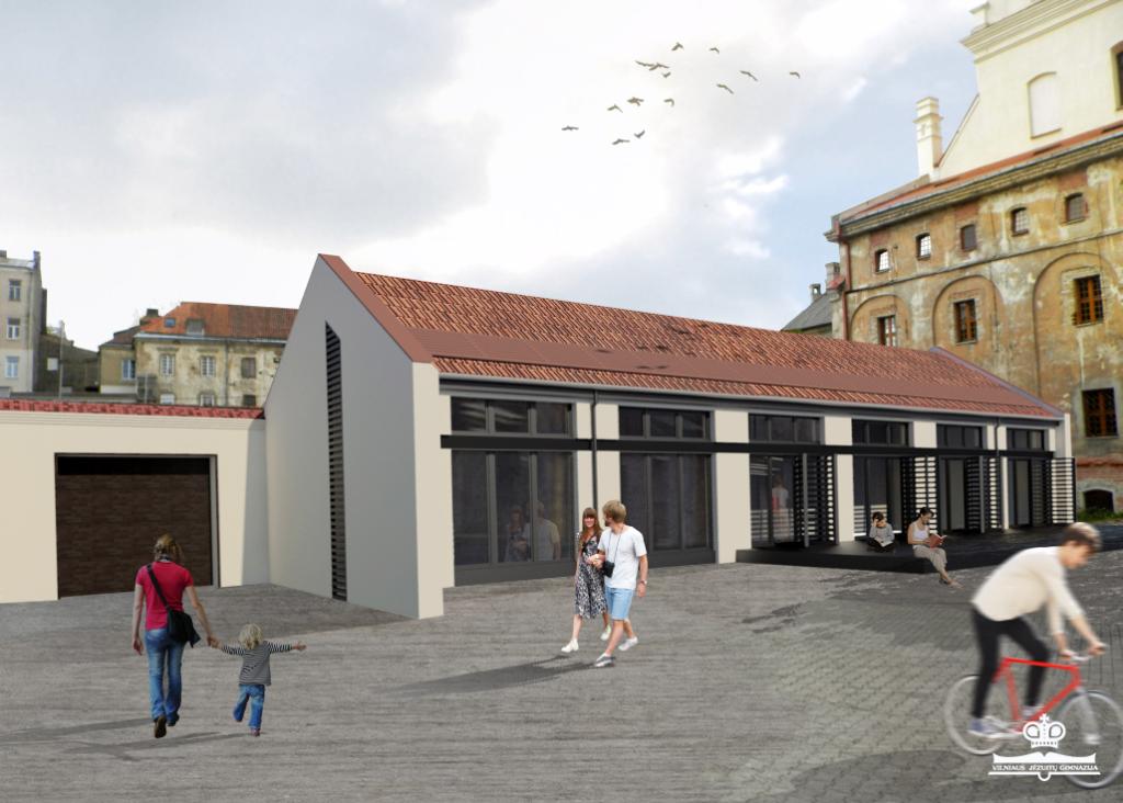 Vilniaus jėzuitų gimnazijos biblioteka